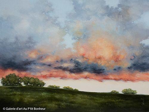 Tammy Shane, 'Chasing The Light', 36'' x 48'' | Galerie d'art - Au P'tit Bonheur - Art Gallery