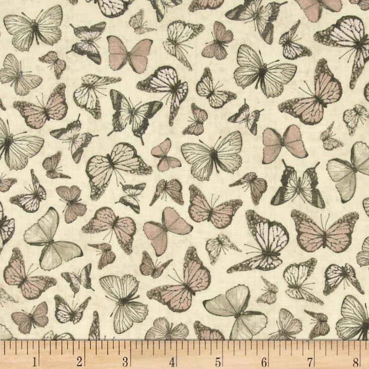 Mirabelle Butterflies Tan from @fabric.com  Designed for Quilting Treasures, this cotton print fabric is perfect for quilting, home décor accents, craft projects and apparel. Colors include shades of grey, shades of brown, shades of peach, and shades of cre