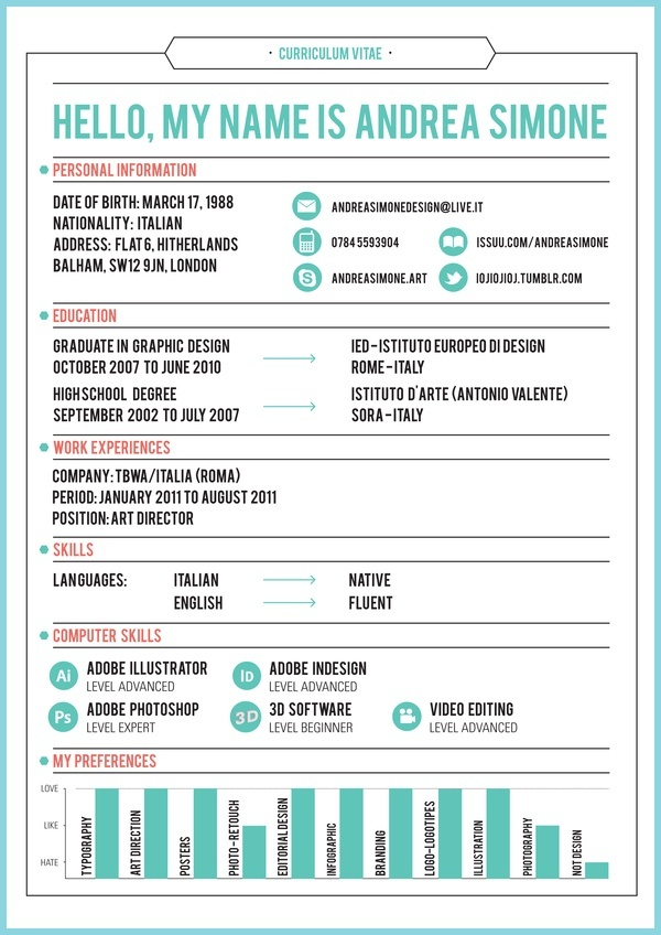 312 best Innovative\/Creative #Resumes images on Pinterest - skills and abilities list for resume