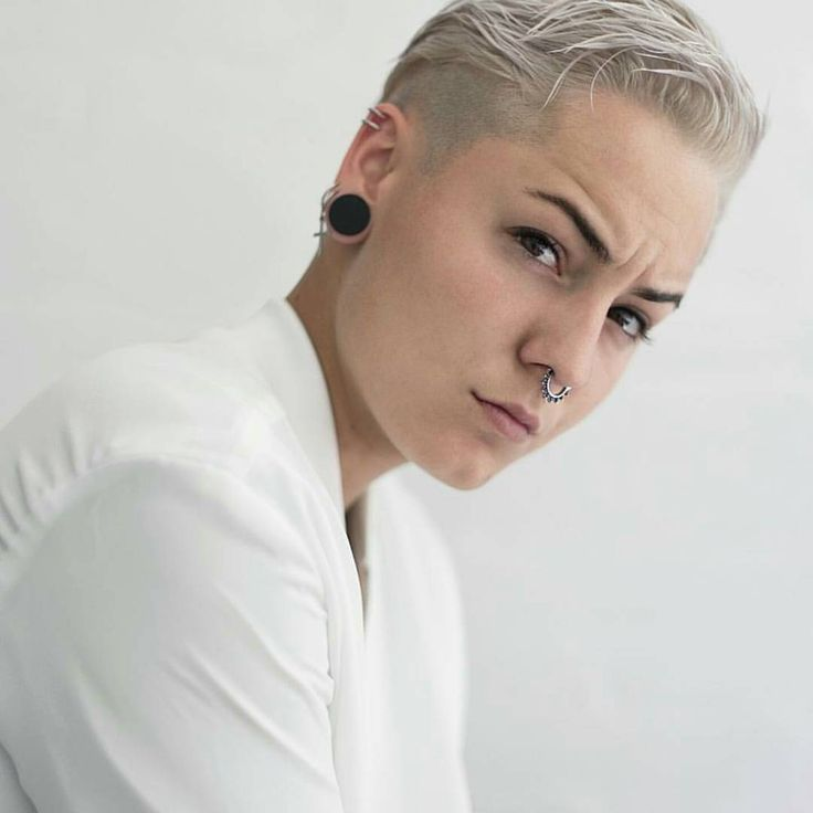 I Like The Large Plugs And The Nose Ring.