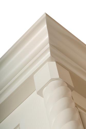 Ascott Moulding Details   #wellborn, #vanity, #bathroom, #cabinetry