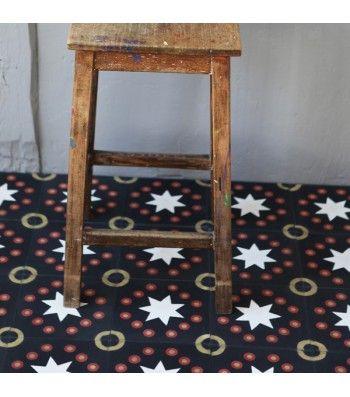 carreau de ciment kermesse noir petit pan vivre en multicolore projet cuisine pinterest. Black Bedroom Furniture Sets. Home Design Ideas