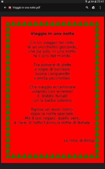 Babbo Natale,  filastrocca, viaggio di Natale,  scuola infanzia