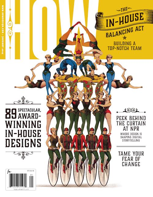 HOW Magazineu0027s January Issue · Editorial DesignGraphisches DesignHaus ...