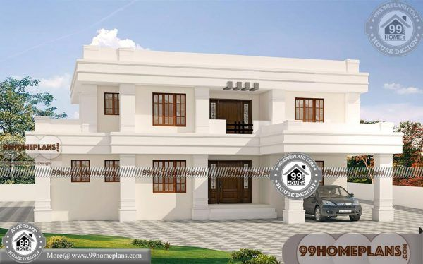 Indian Modern House Designs Double Floor Bungalow Style Home