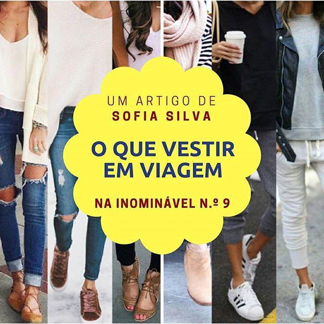 Verão, férias, viagens... Palavras mágicas e felizes. Na hora de partir, nada de angústias - a Sofia tem todas as dicas para uma viagem confortável... e memorável. Na #revistainominavel n.º 9  https://buff.ly/2hzB1Wn  #revistadigital #revistaonline #revistaportuguesa #portuguesemagazine #portugal #moda #fashion #tendências #trends #bookstagram #instadaily [link in bio]