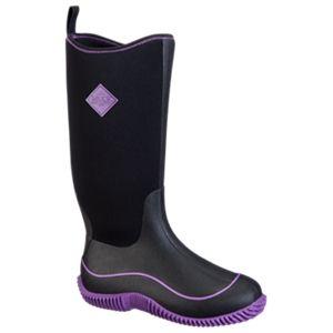 The Original Muck Boot Company Hale Multi-Season Boots for Ladies - Black/Purple - 10 M