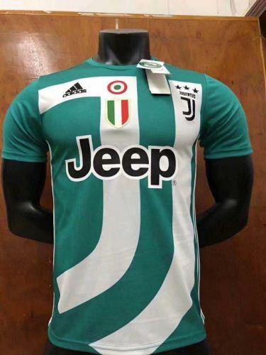 e86a3c5729b 2018-19 Juventus Commemorative Edition Green Thailand Soccer Jersey ...
