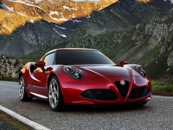 2013 Alfa Romeo 4C 970 supercar 4-c