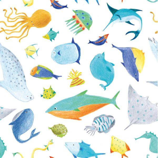 https://www.behance.net/gallery/baby-fish-pattern/12355463