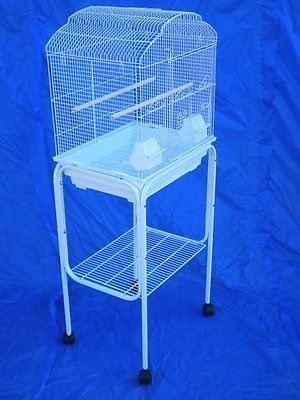 Cage Stands 116360: Rolling Stand For 18 X 14 Or 18 X 18 Bird Cage (Stand Only) White-852 -> BUY IT NOW ONLY: $47.39 on eBay!