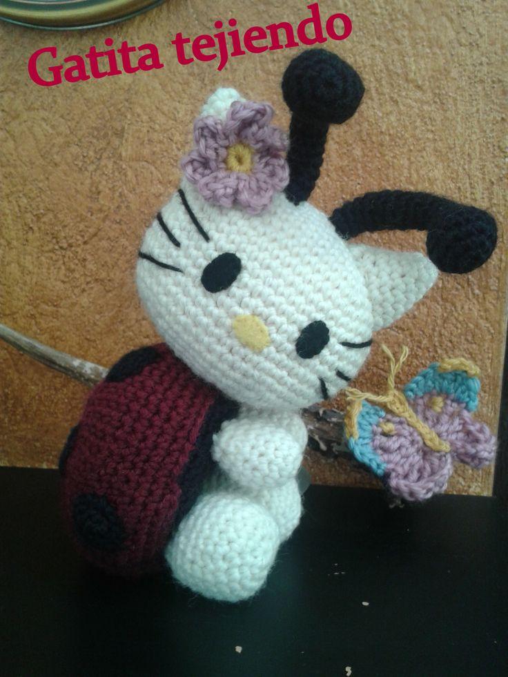Kitty Mariquita Amigurumi : 99 best Amigurumis: Hello kitty y accesorios. images on ...