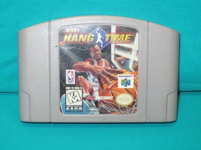 Nintendo 64 NBA Hang Time K-A Midway Basketball Video Game