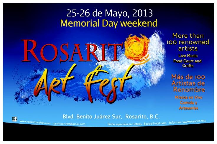 Rosarito Art Fest 2013.