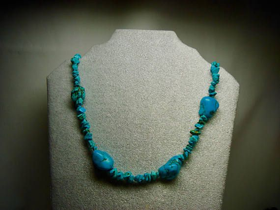Long Turquoise Necklaces for Women Robin Blue Turquoise