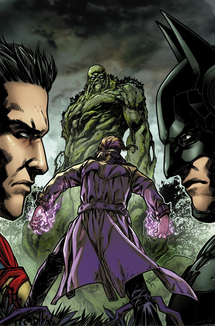 INJUSTICE: GODS AMONG US YEAR THREE #6 Written by TOM TAYLOR Art by BRUNO REDONDO and MIKE S. MILLER Cover by NEIL GOOGE On sale DECEMBER 17 • 32 pg, FC, $2.99 US • RATED T • DIGITAL FIRST Swamp Thing has an answer for Constantine's request, but it's not the one the mage had hoped to hear – and a major rift severs the uneasy alliance these two have shared. Plus, Constantine tells Batman that they now have a new, more deadly foe to face!