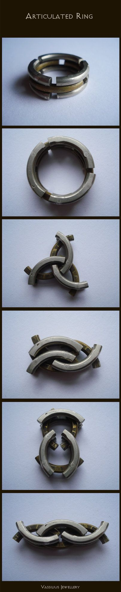 Articulated ring by ~Vassilius on deviantART