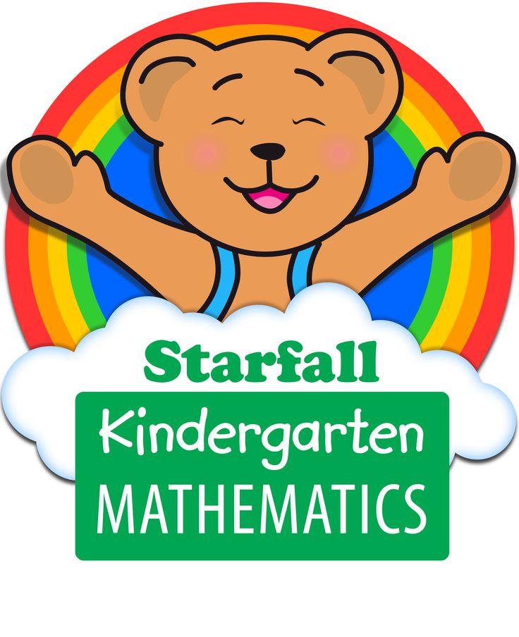 Children love learning Kindergarten Math with Starfall's Math Curriculkum!