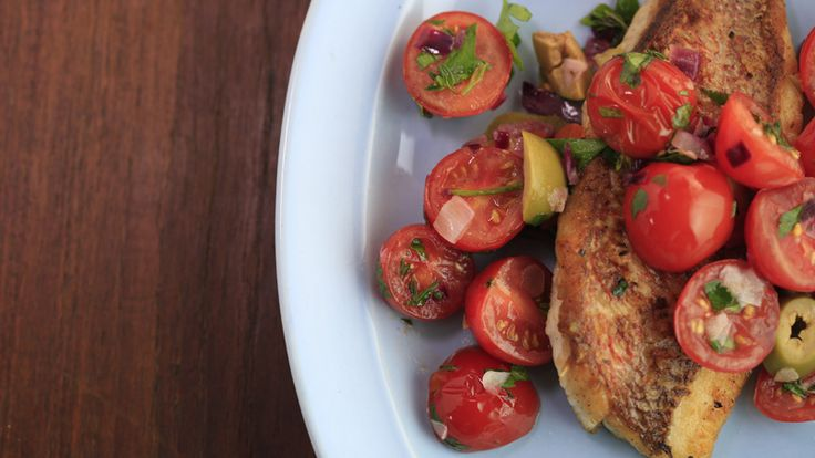 Get Rachael Ray's recipe for Snapper Vera Cruz. It's what's for dinner tonight!