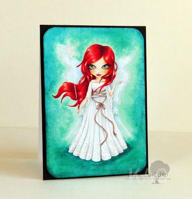 PaperbabeStamps Mayleedee Frost Fairy