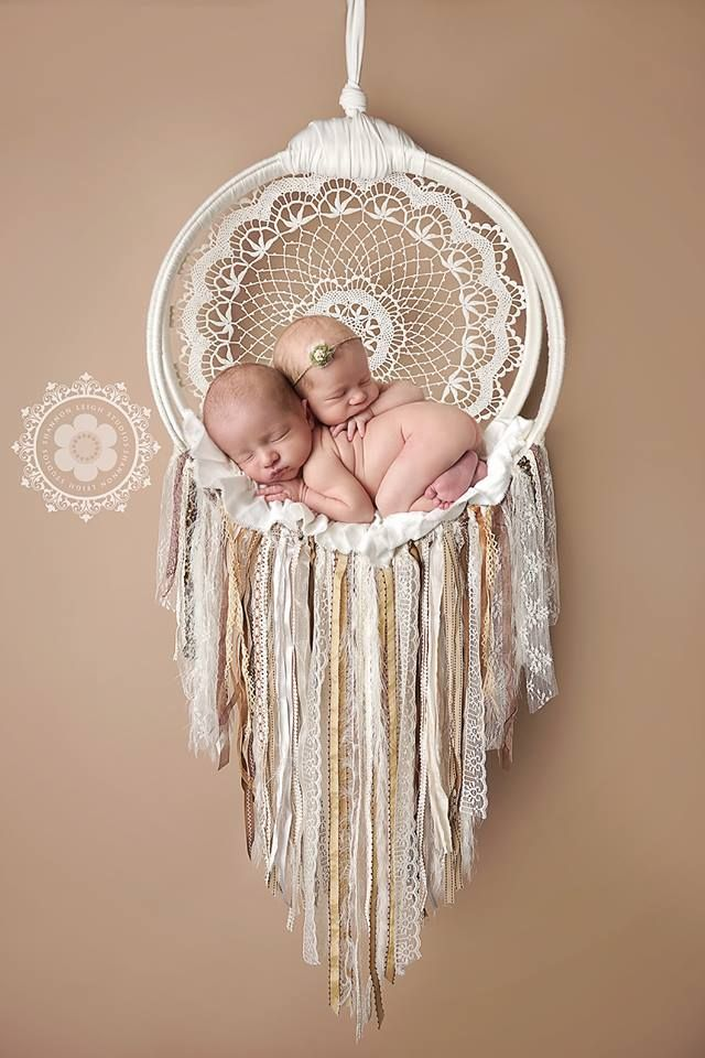 Handmade. Newborn Dreamcatcher. ***DISCLAIMER***These items are for composite use. All items sold at Dream Baby are for professional use and intended as photography props. These items are NOT toys and should never be used without supervision or assistance. Baby safety is priority! Use extreme ca...