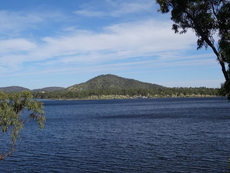 Eungella Dam is a popular spot for the fishing, camping, Water skiing/Jet skiing  and boating enthusiast! Take your own marine craft and fishing tackle (fishing permit required) A great place to spend a lazy day relaxing by the water! #Eungella #Dams #Fishing #Swimming #Skiing #boats