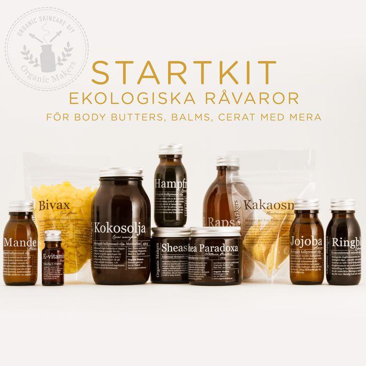 Startkit råvaror - Organic Makers
