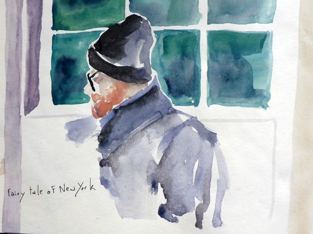 MHBD's Blog: Watercolour portraits in Centra