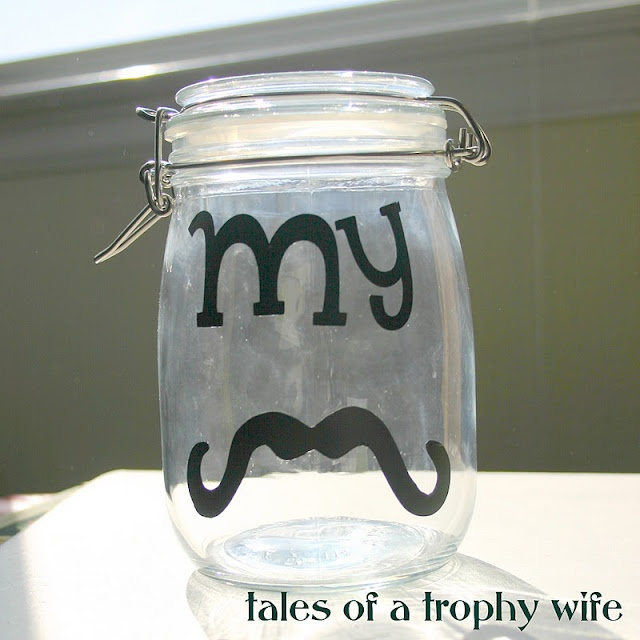 My Stache-Coin jar
