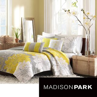 Madison Park Brianna 6-piece Coverlet Set  Love it with gray walls~perfect