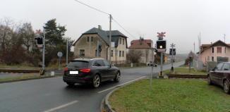 Policie udělala akci na železničních přejezdech