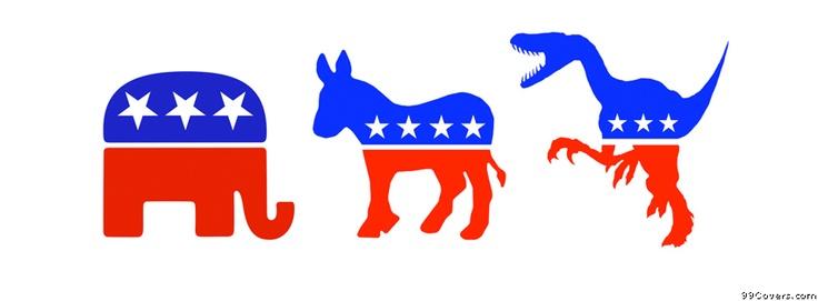 Aren't both parties ALREADY prehistoric?