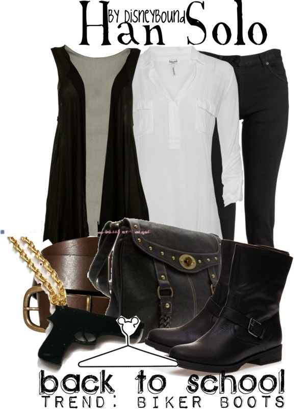 """Han Solo"" by lalakay ❤ liked on Polyvore"