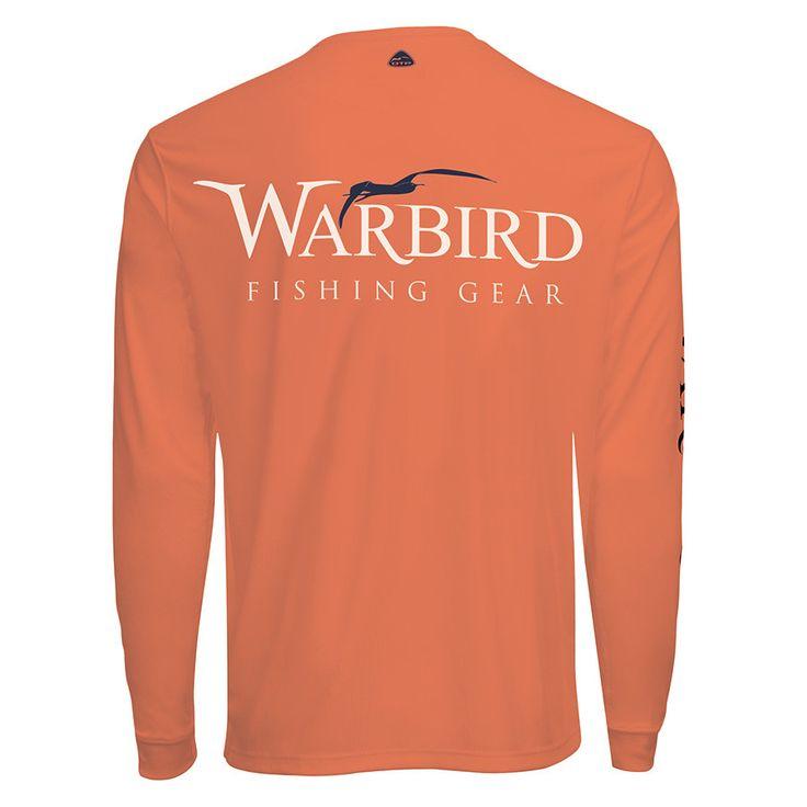 Men's OTP UV Shirt: Warbird Salmon