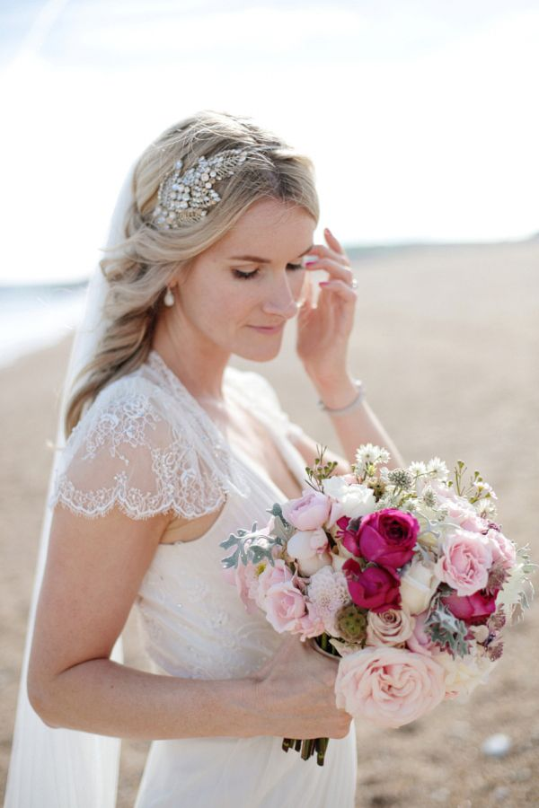 Aspen by Jenny Packham for a 1920s and 1930s Inspired 'Local' Devon Wedding http://www.dashacaffrey.com/