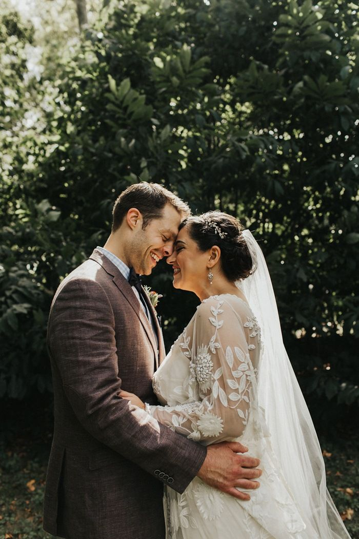 Romantic and vintage inspired garden party wedding in the outskirts of Philly | Image by Tree of Life Films & Photography
