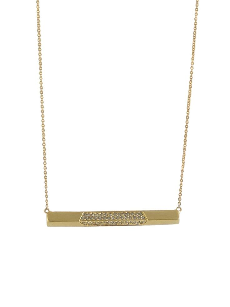 MODERN REVIVAL BAR NECKLACE CRYSTAL http://www.thedarkhorse.com.au/shopping/NECKLACES/MODERN-REVIVAL-BAR-NECKLACE-CRYSTAL---HOUSE-OF-HARLOW