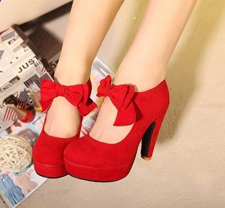 vintage/retro style,woman small bowtie platform pumps,ladys sexy high heeled shoes,sandals for women ,928-5 US $28.90