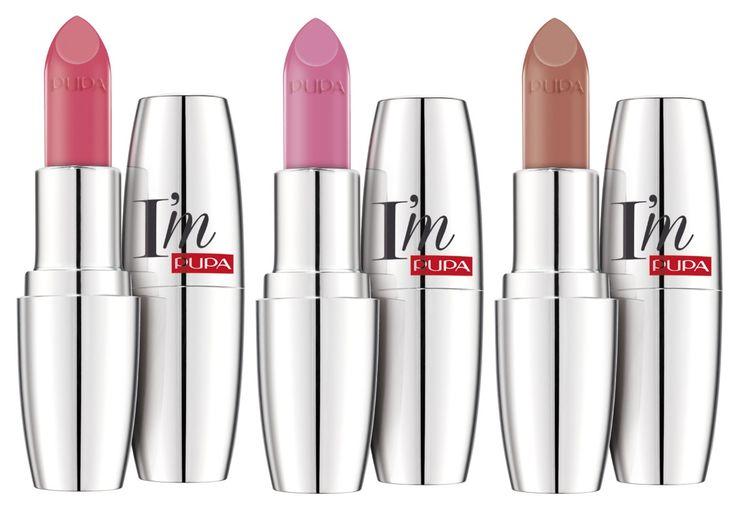 Pupa Im Lipsticks Pastel Colors öpücük Lipstick Pink Lipsticks