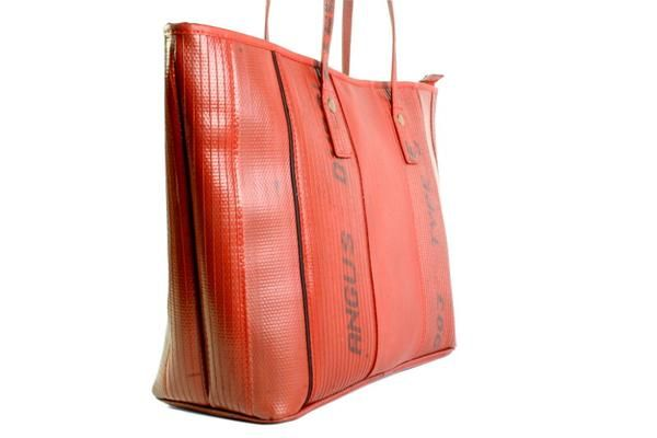 The original Elvis & Kresse Tote bag, made from reclaimed fire-hose