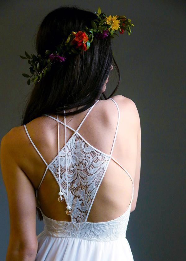 Penelope | Wear Your Love | Lace Bohemian Wedding Dress