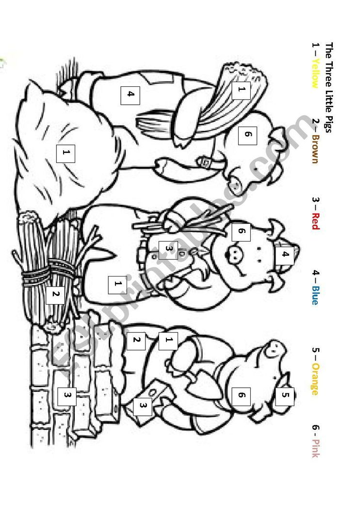 This coloring activity is meant to reinforce the