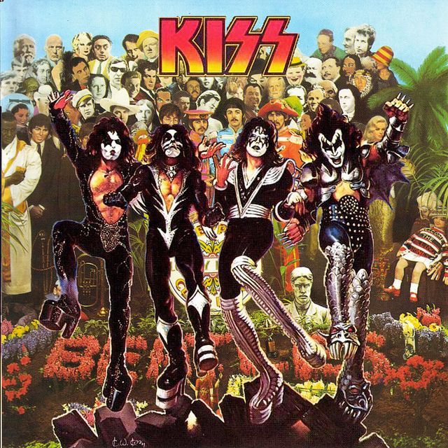 The 25 Best Kiss Album Covers Ideas On Pinterest