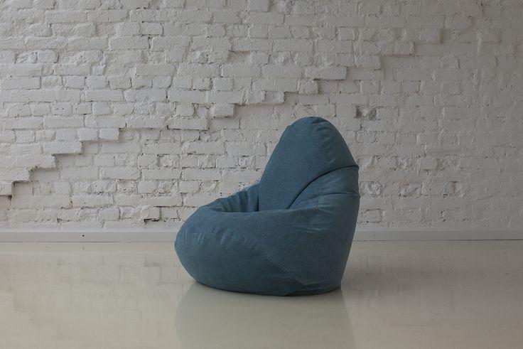 Кресло-мешок Дели бирюза