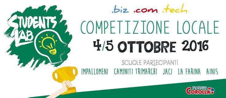 Students Lab 2016 - Eventi Parco Corolla