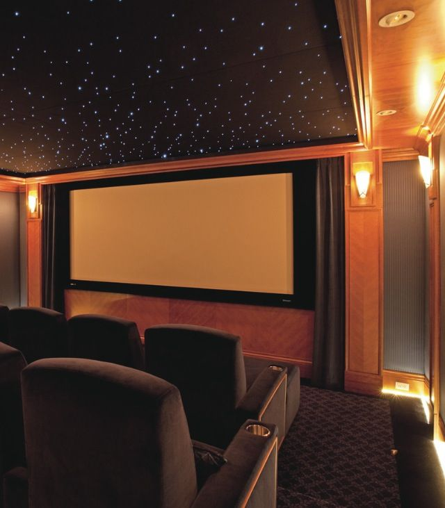 Home Theater Room Design: 14 Best Images About Home Theaters On Pinterest