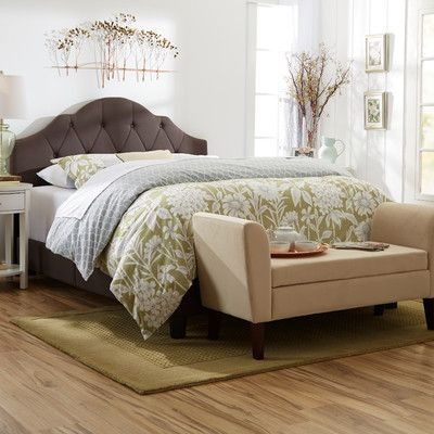 Three Posts Portman Upholstered Headboard & Reviews | Wayfair