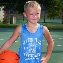 #Basketball jersey design for basketball summer camp: QBK-72 More ideas at easyprints.com #campwear
