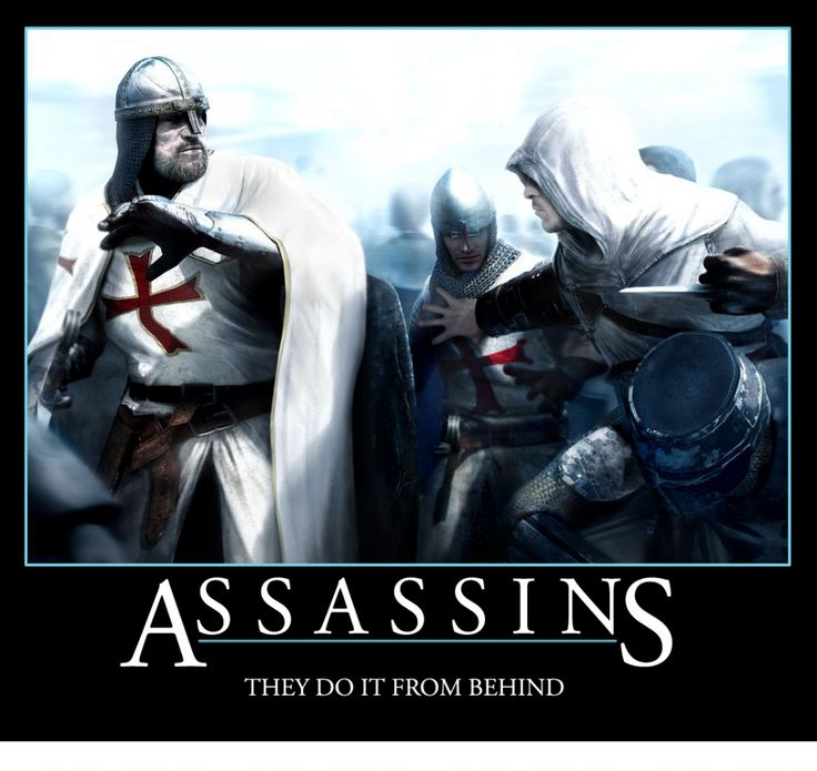 Lesson From Assassin Creed! - http://lmaomemes.com/lesson-from-assassin-creed/