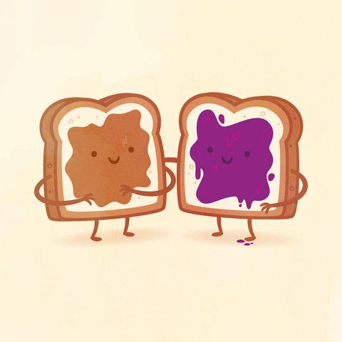 Peanut Butter and Jelly by Philip Tseng